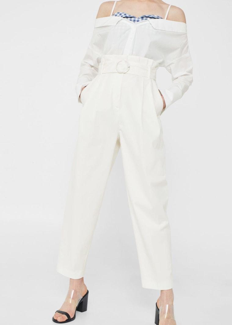 High-Waist Trouser
