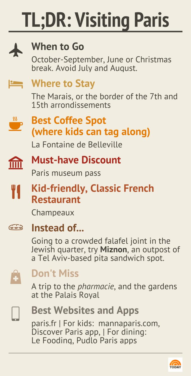 Paris travel tips quick guide