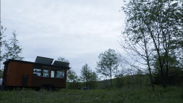 Fall asleep under the stars in this Hudson Valley tiny house!