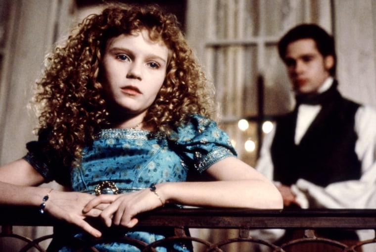 INTERVIEW WITH THE VAMPIRE, Kirsten Dunst, Brad Pitt, 1994