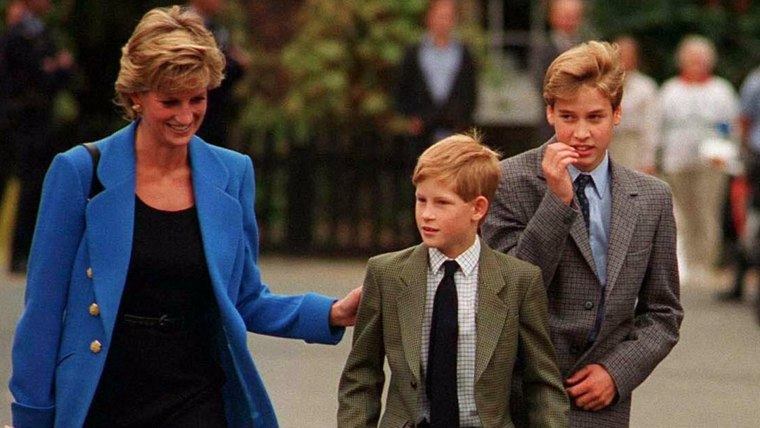 prince william reveals how he and prince harry let princess diana down we couldn t protect her prince harry let princess diana down
