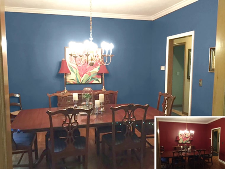How Lori's dining room could look.