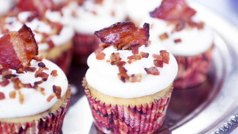Al Roker's Bacon-Maple Cupcakes