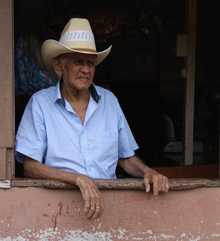 100-year-old Estanislao Su?rez