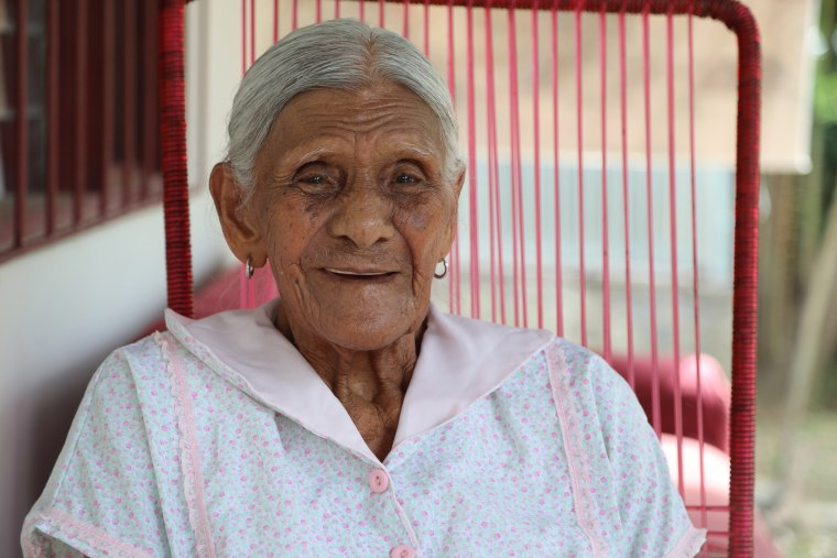 100 year old Eulalia Mendoza