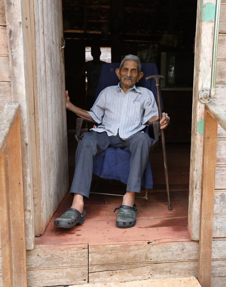 107-year-old Jos? Pizarro