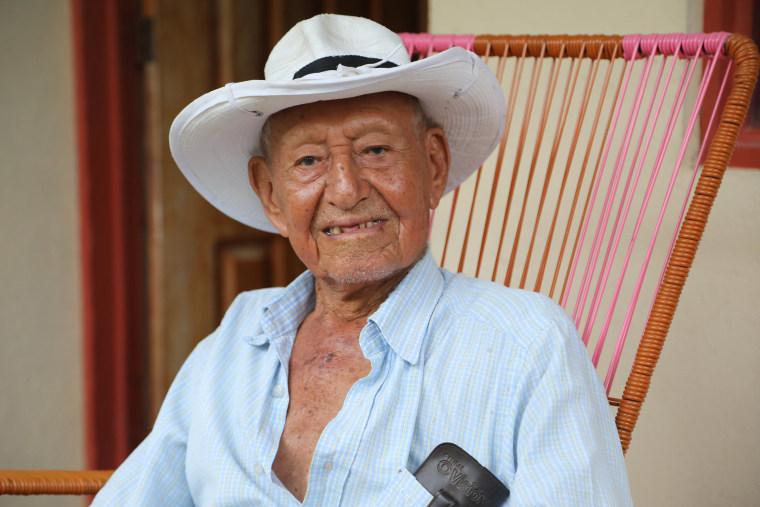100 year old Jose Bonifacio