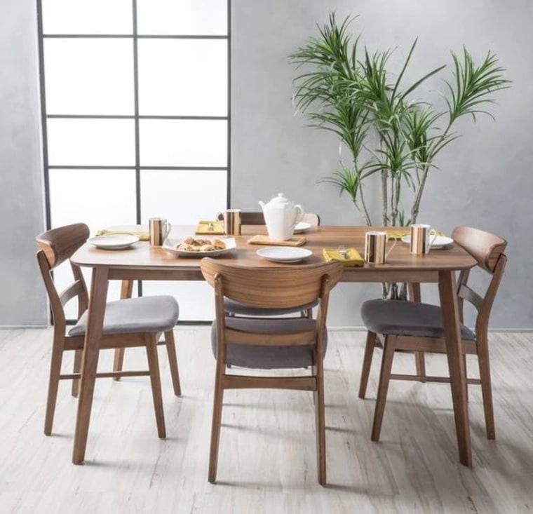 5-Piece Rectangular Dining Set
