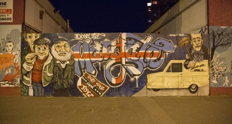 Image: Graffiti in Margate, England