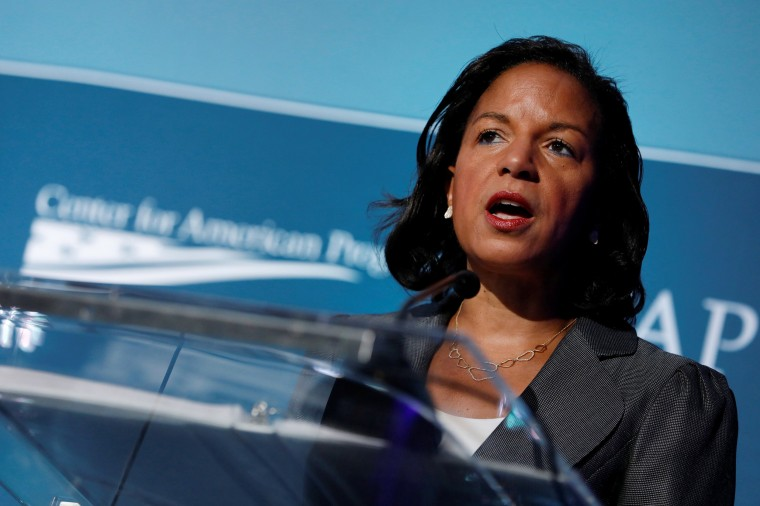 Image: Former National Security Advisor Susan Rice speaks at the Center for American Progress Ideas Conference