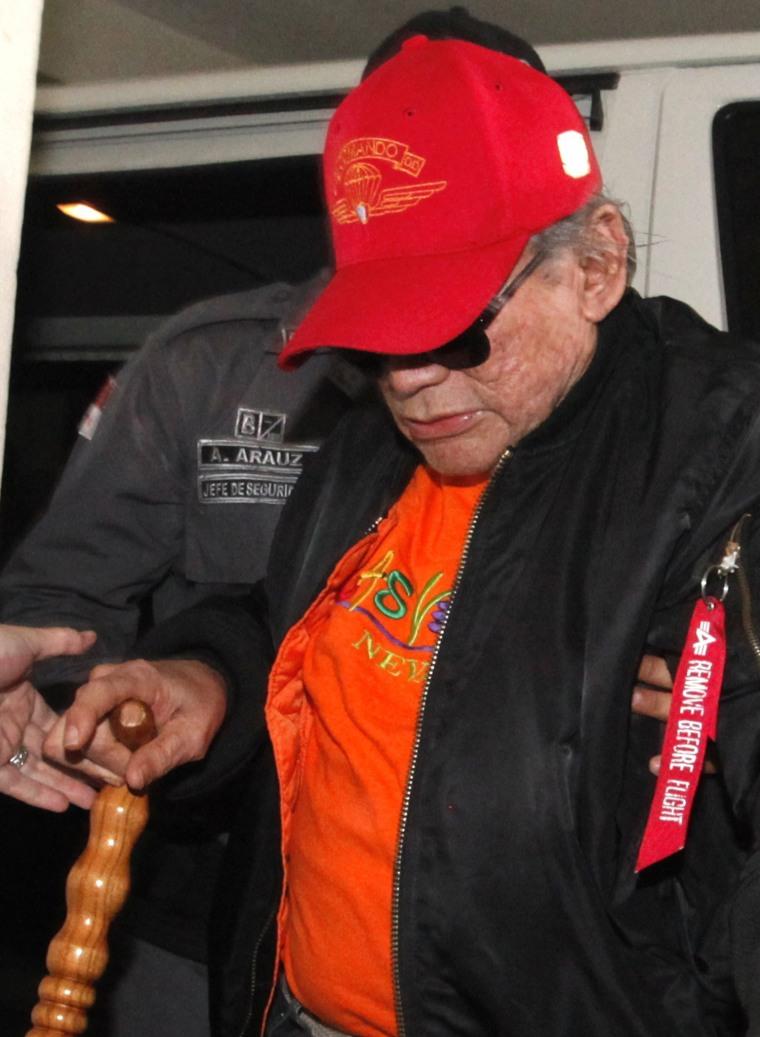 Image: Manuel Noriega on Jan. 28, 2017