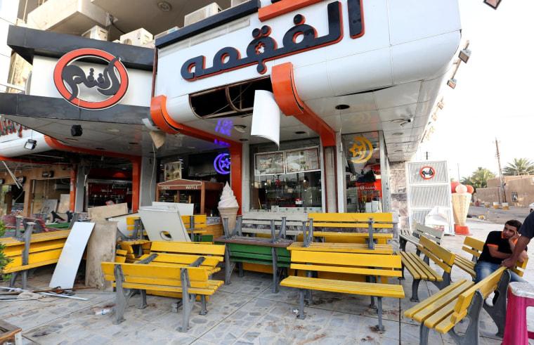 Image: The Alfaqma Ice Cream parlor