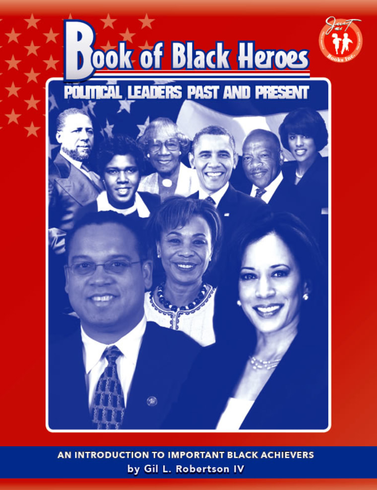 """Book of Black Heroes: Political Leaders Past and Present"" by Gil Robertson IV"