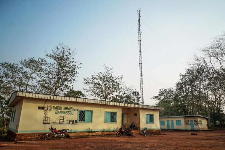 Catholic Relief Services has a network of people sending out security information via their HF radios.