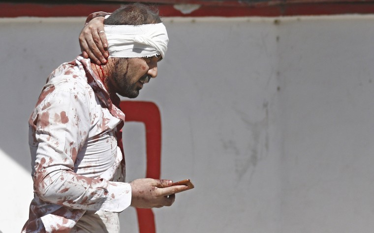 Image: At least 50 casualties in suicide bomb attack in Kabul