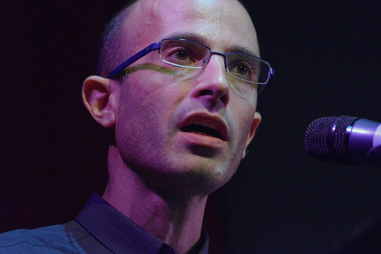 Yuval Noah Harari presents his new book