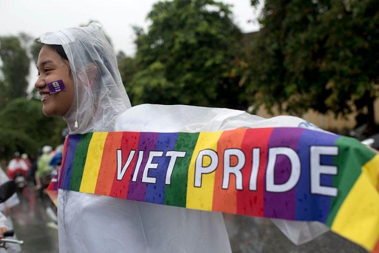 Hanoi Gay Pride March 2015