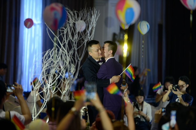 Same-sex Marriage Case Losers Hold Wedding In Changsha