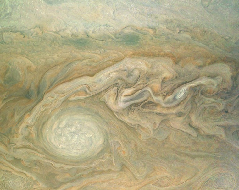 Image: SPACE-US-JUPITER-LITTLE RED SPOT