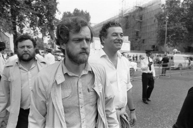 Image: Jeremy Corbyn in 1984