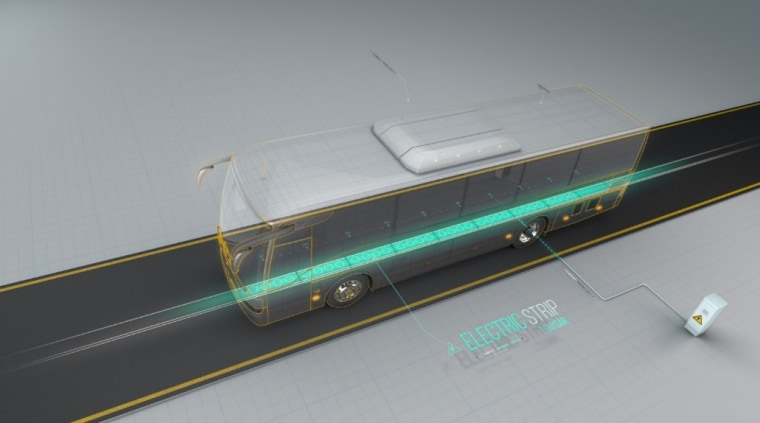 ElectRoad's plans will allow electric vehicles to operate without a batter.
