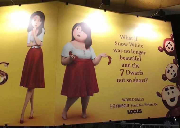 """Image: The ad campaign for """"Red Shoes and the 7 Dwarfs"""""""