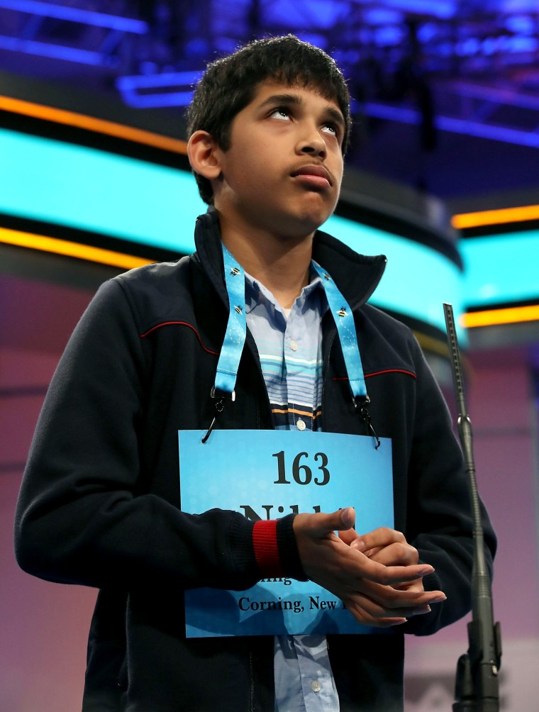 Image: Students Compete In The Finals Of The Scripps National Spelling Bee