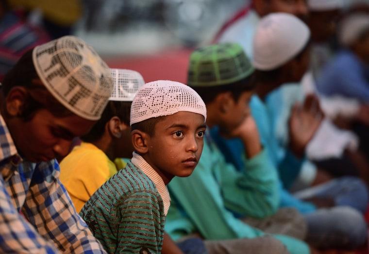 Image: INDIA-RELIGION-ISLAM-RAMADAN