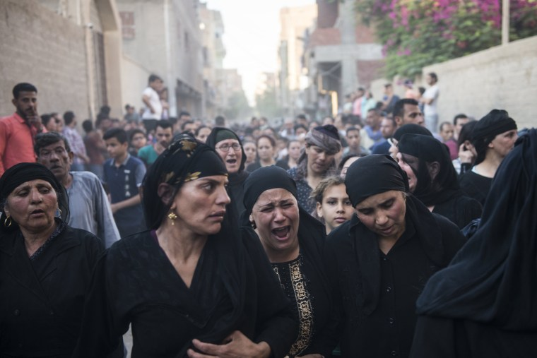 Image: Coptic Christians killed in attack on bus in Egypt