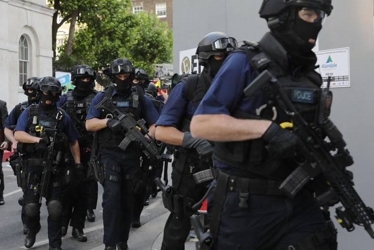 Image: Aftermath Of The London Bridge Terror Attacks