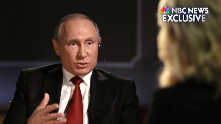Vladamir Putin sits down for interview with NBC News' Megyn Kelly