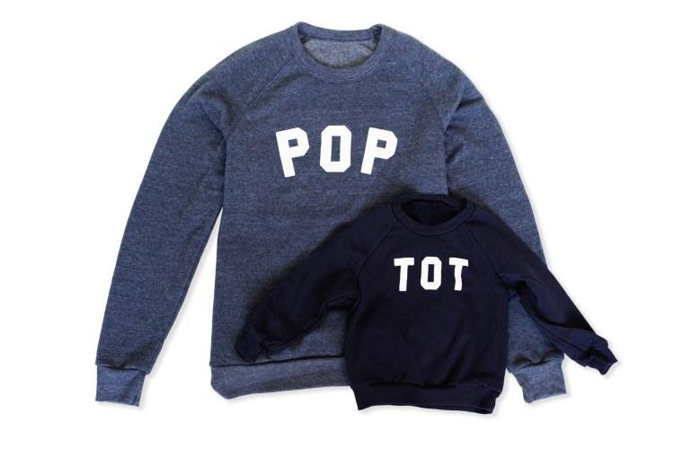 Pop and Tot Sweatshirt