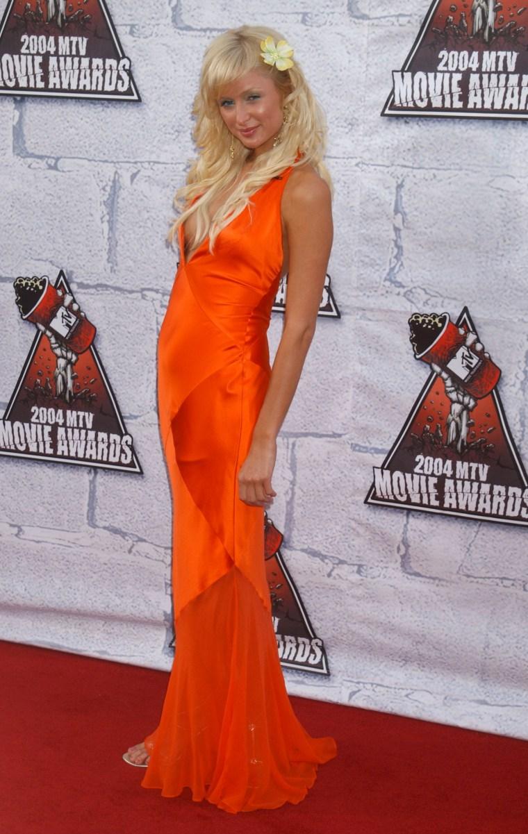 Paris Hilton hair