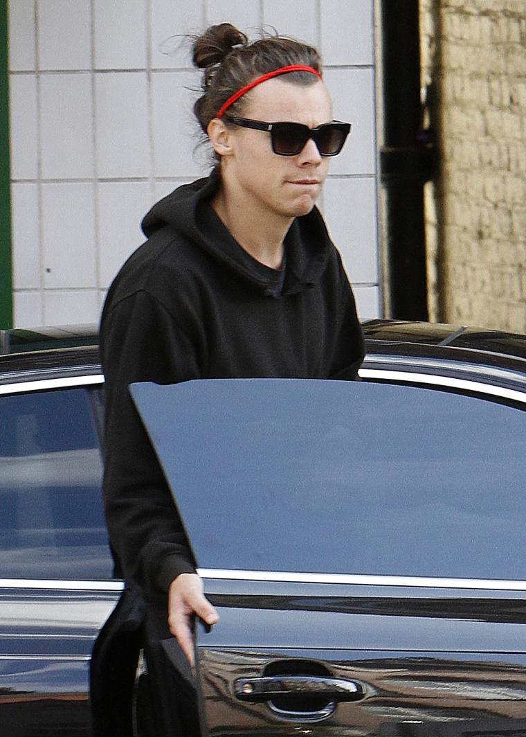 Harry Styles Sighting - September 28, 2015