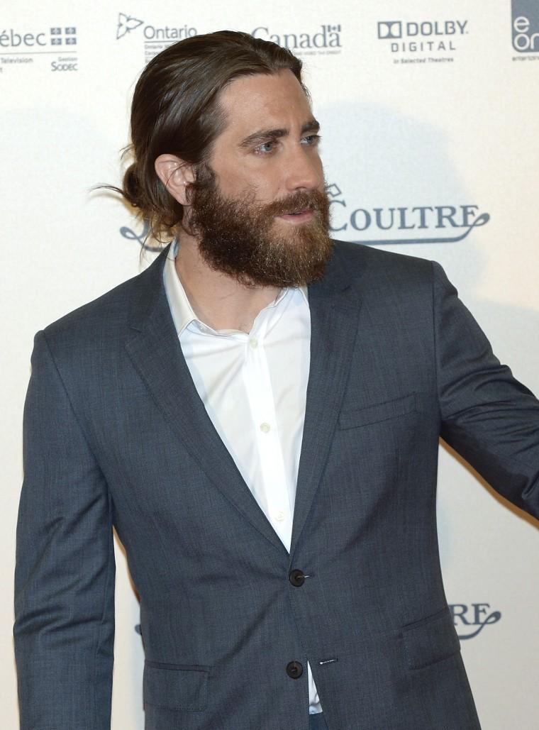 Jake Gyllenhaal attends 'Enemy' Madrid Premiere