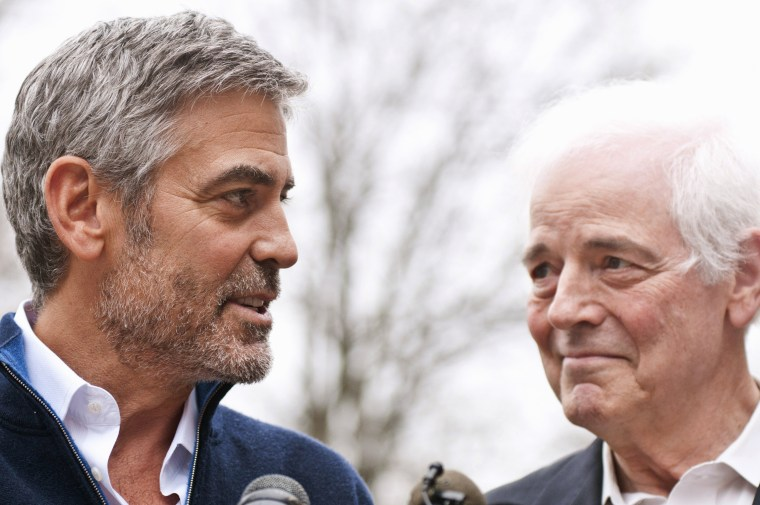 George Clooney and Nick Clooney