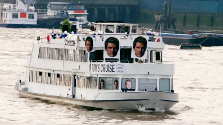 Tom's Cruise on the River Thames Corden