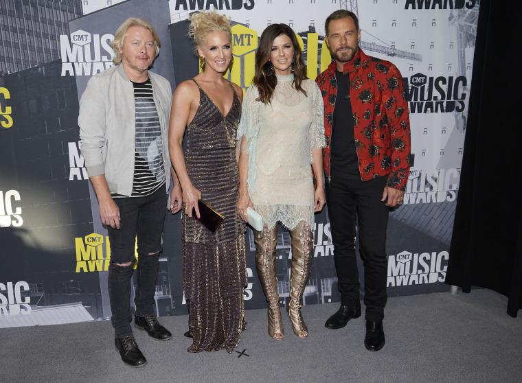 Image: Phillip Sweet, from left, Kimberly Schlapman, Karen Fairchild, Jimi Westbrook