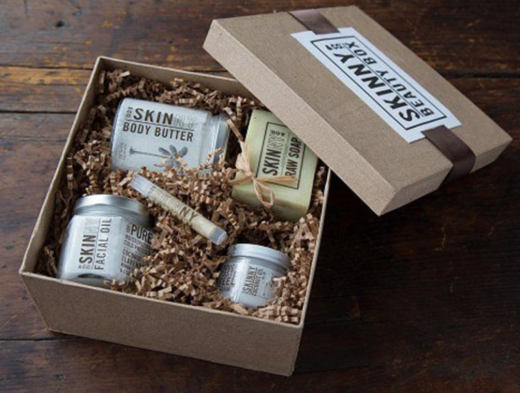 Skinny & Co. Raw Coconut Oil Beauty Box, $90, The Grommet