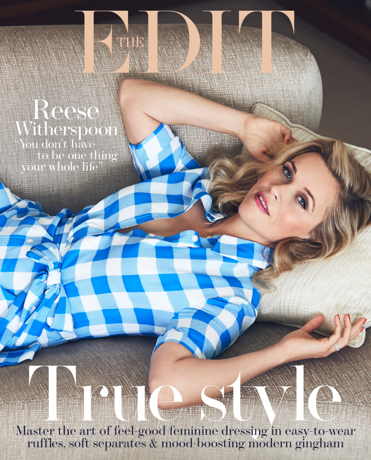 """Reese Witherspoon opened up to The Edit about how """"liberating"""" it was to turn 40."""