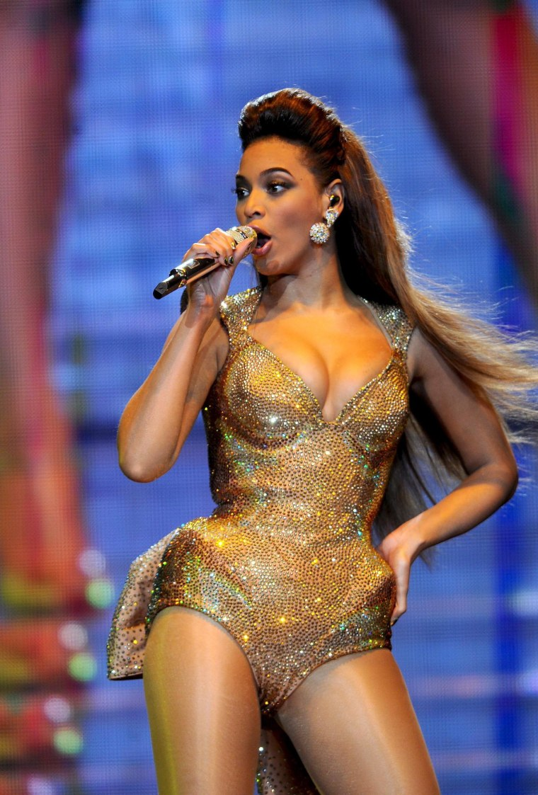 Image: Beyonce Knowles performs