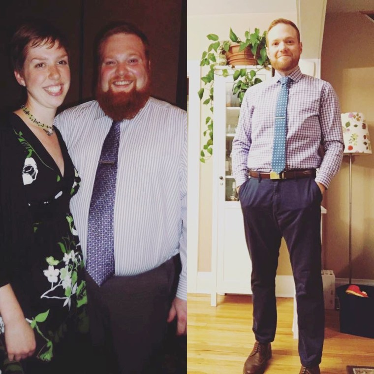 Dad loses 175 pounds