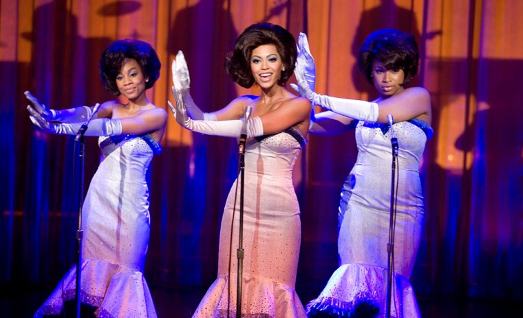 Film 'Dreamgirls' receives five Golden Globe nominations undated publicity photograph