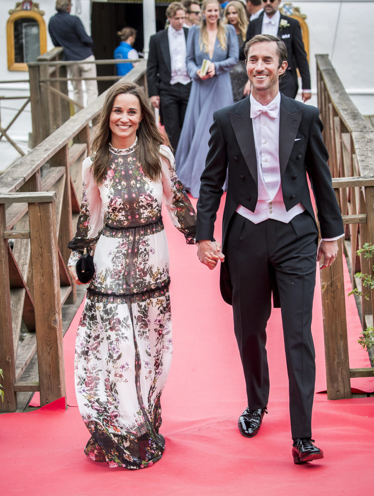 Wedding party for Jons Bartholdson and Anna Ridderstad, Stockholm, Sweden - 10 Jun 2017