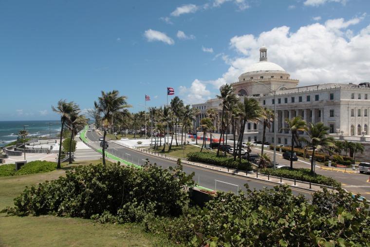 Image: The Capitol building is seen in San Juan