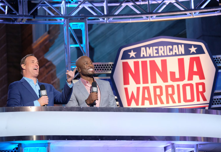 Image: Akbar Oluwakemi-Idowu Gbaja-Biamila on Season 9 of American Ninja Warrior