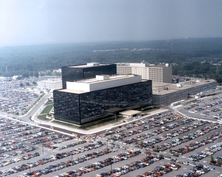 Image: NSA building in Fort Meade, Md.