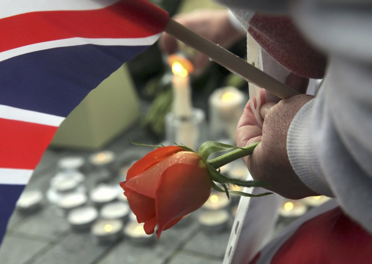 Image: London Vigil