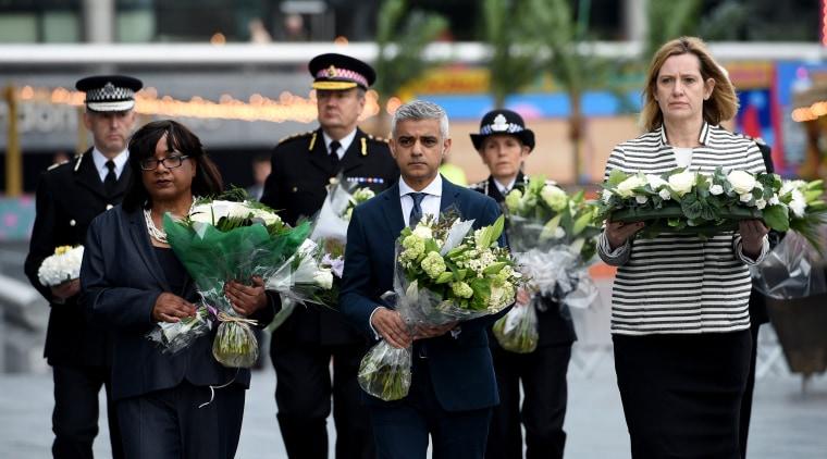 Image: London Bridge attack vigil