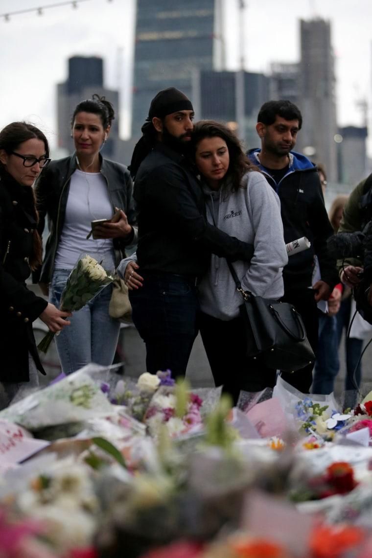 Image: London Vigil